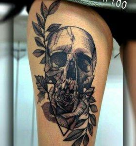 Татуировки, услуги художника