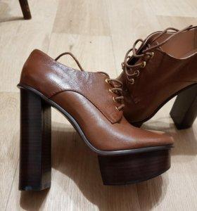 Ботинки новые, натуральная кожа