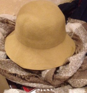 Новая шляпа из фетра