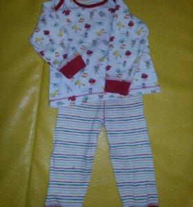 Пижама mothercare р.86