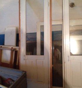 Окна,двери деревянные