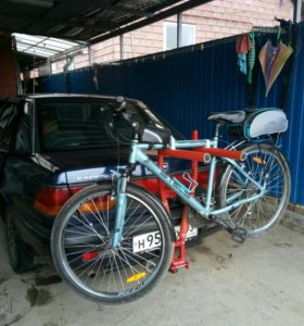 Устройство перевозки велосипеда на форкоп