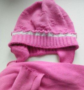 Шапка+шарф р.50