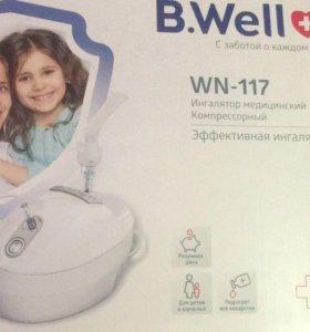 Компрессорный ингалятор b-well wn117