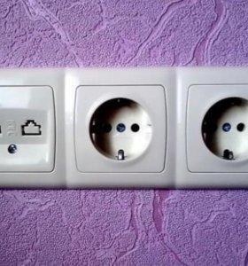 Электрик, электрика, проводка, штробление