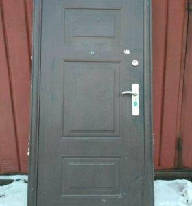 Дверь металлическая 208*90.