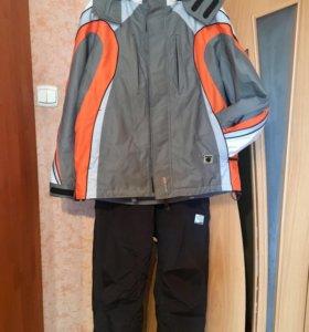 Мужской спортивный костюм, куртка и утепл штаны