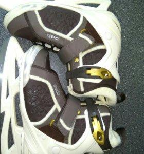 Коньки женские oxelo ice fit5 р-р 39