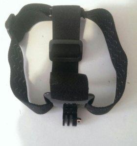 Крепление на голову для экшен камеры