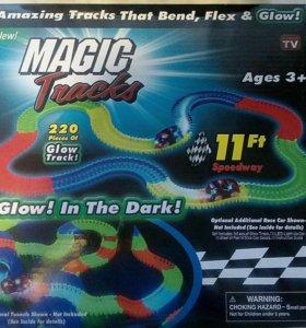 """Гоночная трасса """"Magic Tracks"""", 220 деталей"""