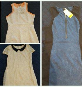 Новые платья HM, Bershka
