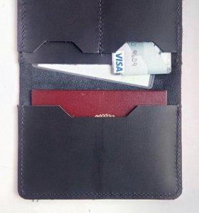 Кожаная обложка паспорта