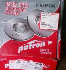 Тормозные диски,колодки на форд
