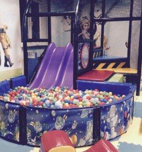 Оборудование для детской площадки, горка для детей