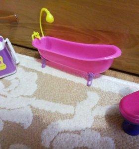 """""""Ванная комната"""" для кукол"""