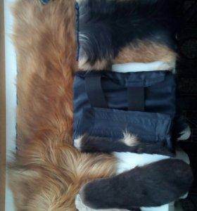 Пояс с собачьей шерсти