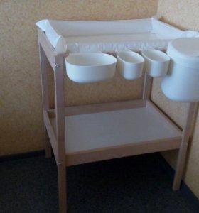 Пеленальный стол Ikea