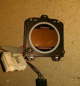Компас,термометр на паджеро 2