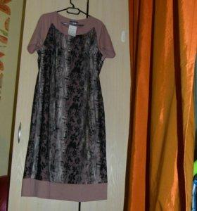 Платье женское рр 54