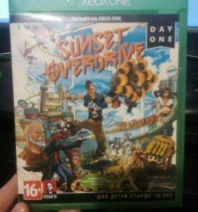 Игра Sunset city overdrive