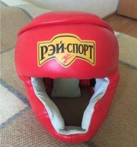 Шлем боксерский регулируемый новый