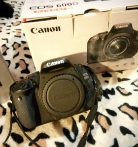 Canon 600d полный комплект
