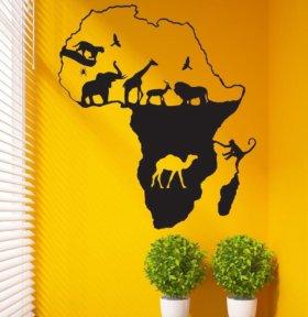 Роспись стен. Создам Африку у Вас дома.