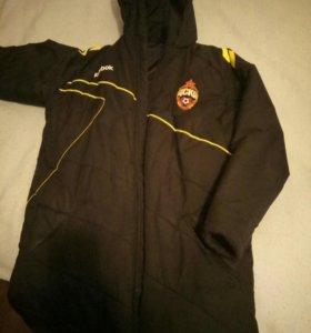 Зимняя куртка ЦСКА