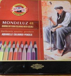 Акварельные карандаши в наборе 48 цветов