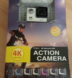 Экшн камера 4k UHD