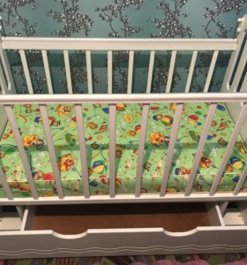 Детская кроватка Daka Baby Укачай-ка
