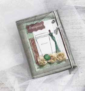 обложка на паспорт тканевая