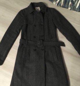 Пальто pull and bear