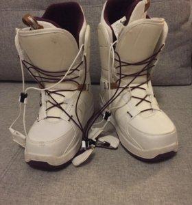 Ботинки для сноуборда, 36, женские