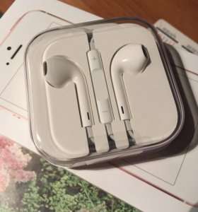 Наушники для iPhone EarPods с разъемом 3,5 мм