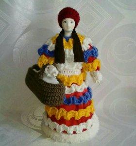 """""""Красная шапочка"""". Фарфоровая кукла.Ручная работа."""