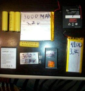 Разные акамуляторные батареи