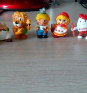 Игрушки киндеры разных коллекций