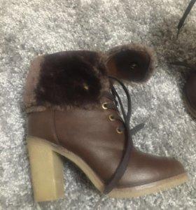 Демисезонные ботиночки Кеддо 36 размер