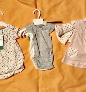 Новые вещи для новорожденной