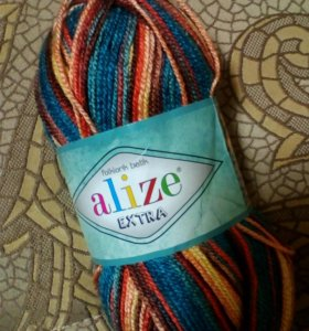 Пряжа Alize folklorik batik extra