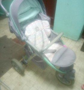 Детская коляска Happy baby neon