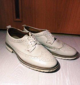 Ботинки броги мужские Zara man 41 размер