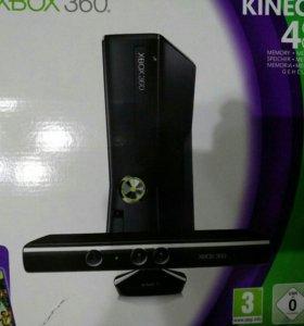 Игровая приставка Xbox 360 + Kinect