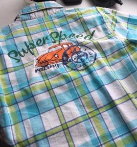 Рубашка для мальчика майка блузка