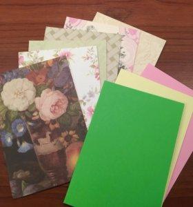 Набор для скрапбукинга (9 открыток)