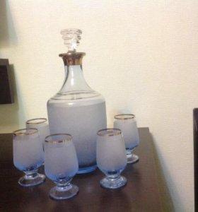 Набор для крепких напитков.