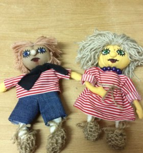 Домовята , куклы