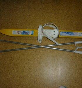 детские лыжи(1.5-4 года)