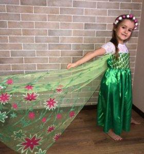 Платье Эльзы Летнее